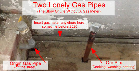 Two Lonely Gas Pipes