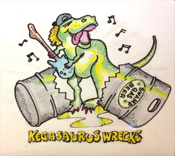 Kegasaurus Album Pic