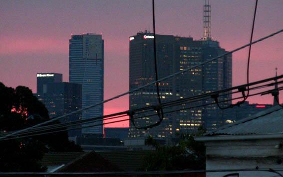 Sunset Over Melbourne 26Mar14